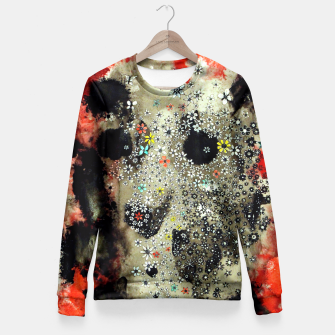 Thumbnail image of Floral Death Fitted Waist Sweater, Live Heroes