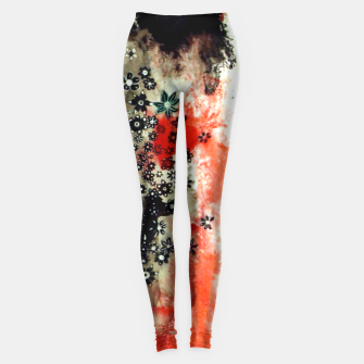 Thumbnail image of Floral Death Leggings, Live Heroes