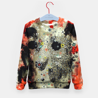 Thumbnail image of Floral Death Kid's Sweater, Live Heroes