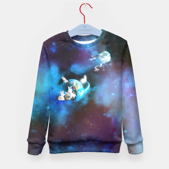 Miniaturka Cats' Mooniverse Kid's Sweater, Live Heroes