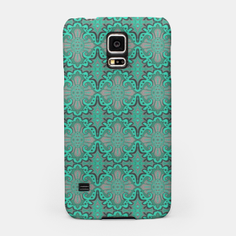 Thumbnail image of Sliced pomegranate, mint & gray bohemian pattern Samsung Case, Live Heroes