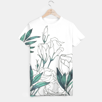 Thumbnail image of Lisianthus T-shirt, Live Heroes