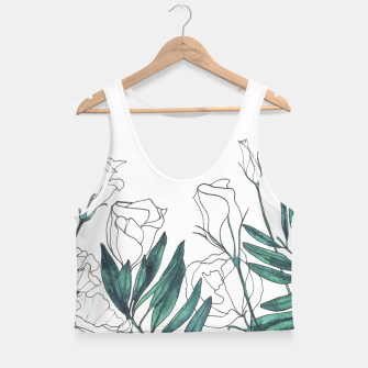 Thumbnail image of Lisianthus Crop Top, Live Heroes