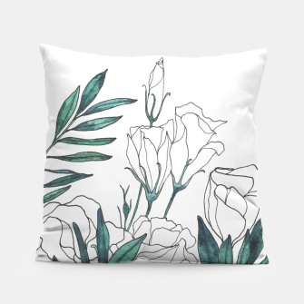 Thumbnail image of Lisianthus Pillow, Live Heroes