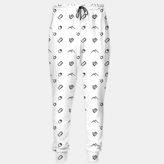 Thumbnail image of Twin Peaks Pattern Sweatpants, Live Heroes