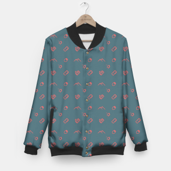 Thumbnail image of Twin Peaks Pattern - color Baseball Jacket, Live Heroes