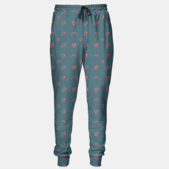 Thumbnail image of Twin Peaks Pattern - color Sweatpants, Live Heroes