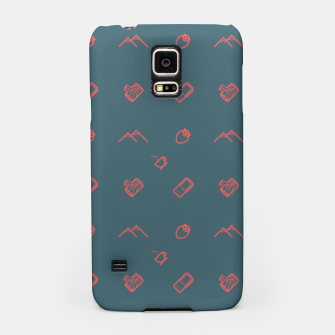 Thumbnail image of Twin Peaks Pattern - color Samsung Case, Live Heroes