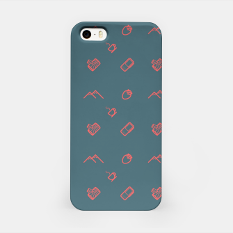 Thumbnail image of Twin Peaks Pattern - color iPhone Case, Live Heroes