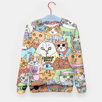 Miniaturka Cats sweater kids, Live Heroes