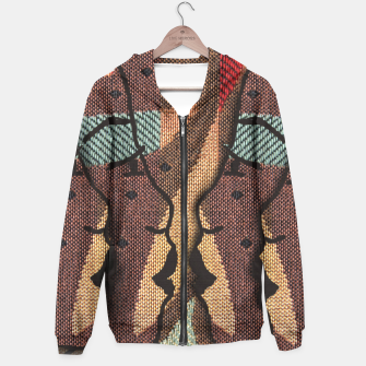 Thumbnail image of African Tapestry Hoodie, Live Heroes