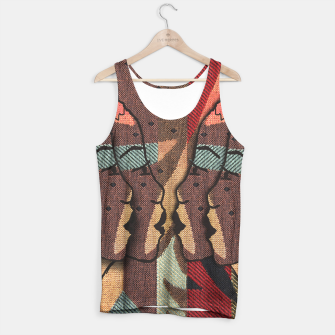 Thumbnail image of African Tapestry Tank Top, Live Heroes