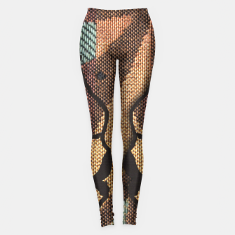 Thumbnail image of African Tapestry Leggings, Live Heroes