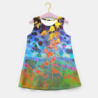Thumbnail image of Golden Afternoon Girl's Summer Dress, Live Heroes