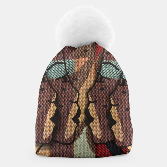 Thumbnail image of African Tapestry Beanie, Live Heroes