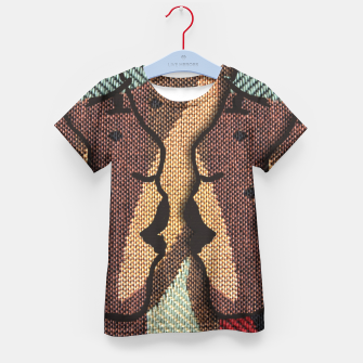 Thumbnail image of African Tapestry Kid's T-shirt, Live Heroes