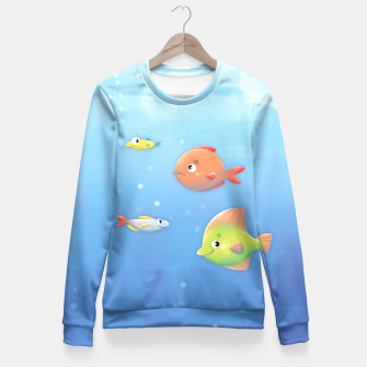 Miniature de image de Fish Fitted Waist Sweater, Live Heroes