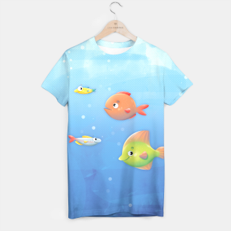 Thumbnail image of Fish T-shirt, Live Heroes