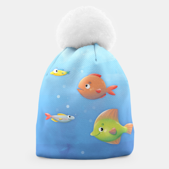 Thumbnail image of Fish Beanie, Live Heroes