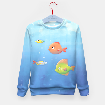 Miniature de image de Fish Kid's Sweater, Live Heroes