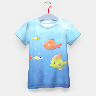 Thumbnail image of Fish Kid's T-shirt, Live Heroes