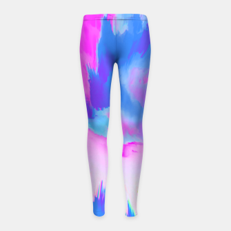 Thumbnail image of Ooze Girl's Leggings, Live Heroes