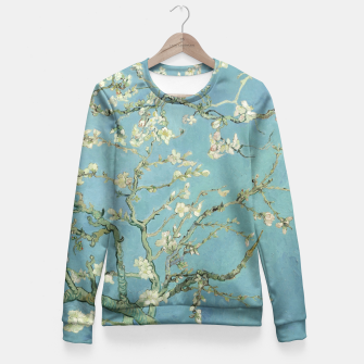 ALMOND BLOSSOM BY ViNCENT VAN GOGH Fitted Waist Sweater thumbnail image