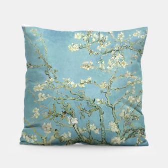 ALMOND BLOSSOM BY ViNCENT VAN GOGH Pillow thumbnail image