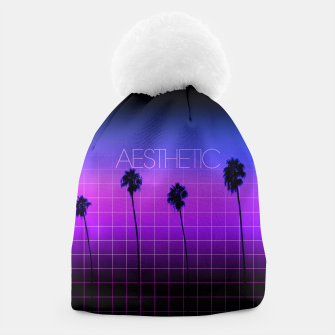Thumbnail image of a e s t h e t i c - l i n e s Beanie, Live Heroes