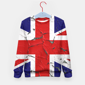 Miniaturka Flag of the United Kingdom Kid's Sweater, Live Heroes