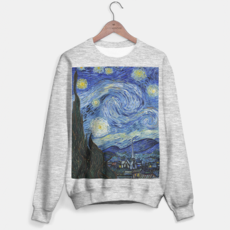 STARRY NiGHT BY ViNCENT VAN GOGH Sweater regular thumbnail image