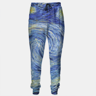 STARRY NiGHT BY ViNCENT VAN GOGH Sweatpants thumbnail image