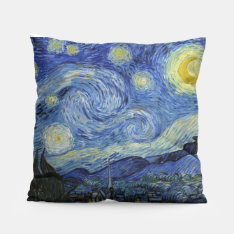 STARRY NiGHT BY ViNCENT VAN GOGH Pillow thumbnail image