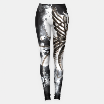 Thumbnail image of Cthulhu Dark Leggings, Live Heroes