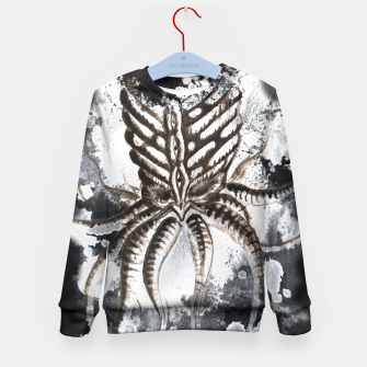 Thumbnail image of Cthulhu Dark Kid's Sweater, Live Heroes