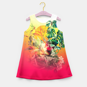 Thumbnail image of DEER VII Girl's Summer Dress, Live Heroes