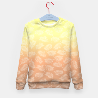 Miniaturka Palm Sunset Kid's Sweater, Live Heroes