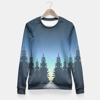 Thumbnail image of Guide Me Home Fitted Waist Sweater, Live Heroes