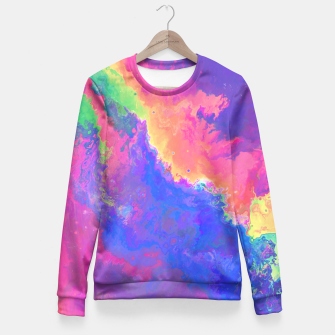 Thumbnail image of Chasin' Colors Fitted Waist Sweater, Live Heroes