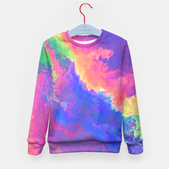 Thumbnail image of Chasin' Colors Kid's Sweater, Live Heroes