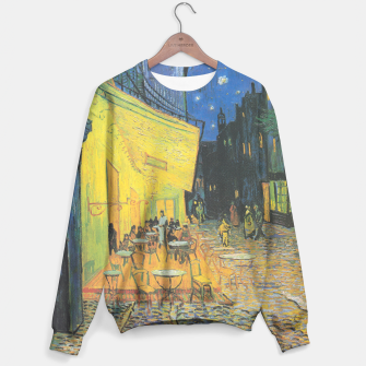 CAFE TERRACE AT NiGHT BY ViNCENT VAN GOGH Sweater thumbnail image
