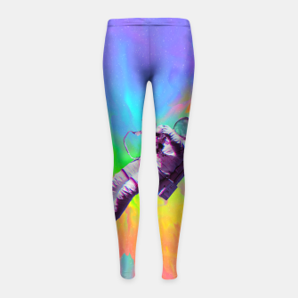 Thumbnail image of Floating Girl's Leggings, Live Heroes