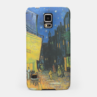 CAFE TERRACE AT NiGHT BY ViNCENT VAN GOGH Samsung Case thumbnail image