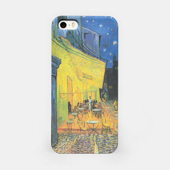 CAFE TERRACE AT NiGHT BY ViNCENT VAN GOGH iPhone Case thumbnail image