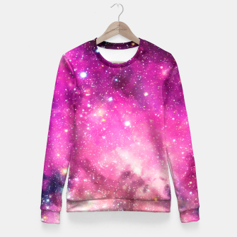 Miniatur Pink Space Fitted Waist Sweater, Live Heroes