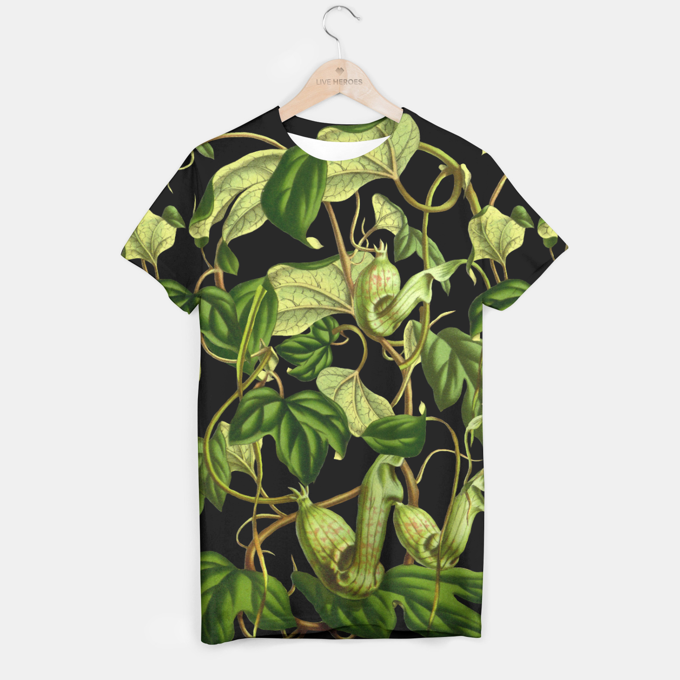 Image of Jungle black T-shirt - Live Heroes