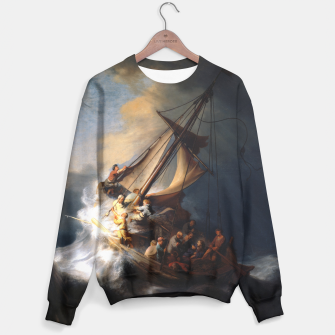 THE STORM ON THE SEA OF GALiLEE BY REMBRANDT Sweater thumbnail image