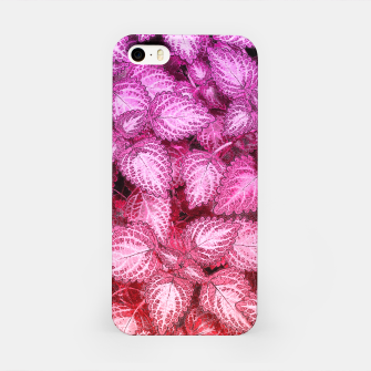 Lovely Leaves iPhone Case thumbnail image