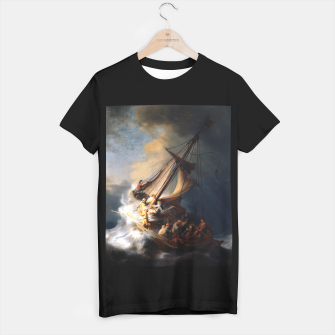 THE STORM ON THE SEA OF GALiLEE BY REMBRANDT T-shirt regular thumbnail image