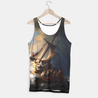 THE STORM ON THE SEA OF GALiLEE BY REMBRANDT Tank Top thumbnail image